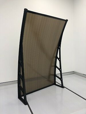 1.5Mx3M DIY Outdoor Window Awning/Patio DARK/CLEAR Cover and length is vrious