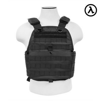 Ncstar Plate Carrier Vest Tactical Gear (Black)  Model #  Cvpcv2924B ***