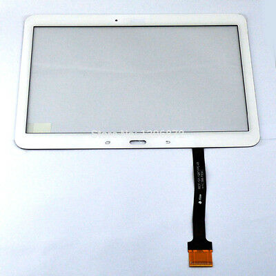 "VETRO+ TOUCH SCREEN per SAMSUNG GALAXY TAB 4 10,1"" SM-T530 T535 DISPLAY BIANCO"