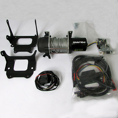 Polaris New OEM Scrambler, Trail Blazer ATV 1500lb Winch Kit, 2877976