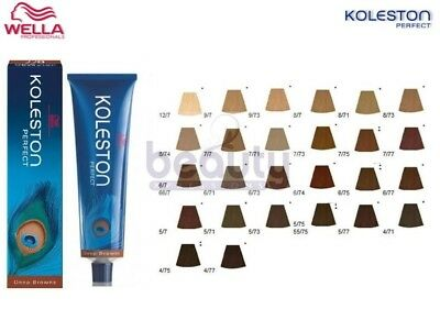 Wella Koleston Perfect Permanent Hair Colour Dye Hair Color - Deep Browns Range