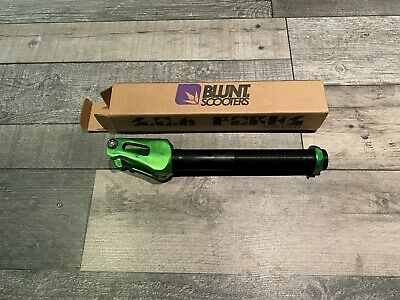Blunt S.o.b Threaded Scooter Forks - Green - Aluminium  Pro Hps Abec Deck Wheels
