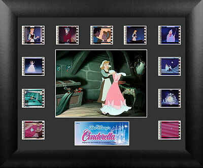 Film Cell Genuine 35mm Framed & Matted Cinderella Disney Montage USFC5653 NEW