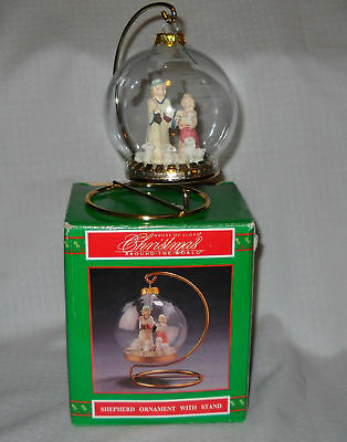 House of Lloyd 1995 Shepherd Ornament w/Stand Christmas Around the World