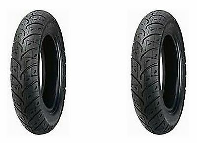 (2) New Kenda 3.50-10 K329 Scooter Tires For Honda Elite & Yamaha Vino / Riva