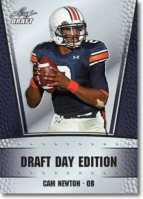 2011 Leaf New Cam Newton Rookie Rc Card 1 Draft Hot 295 Picclick