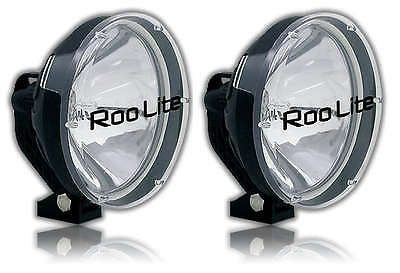 Roo Lite 220Xp 4Wd 4X4 Driving Lights Pair Long Range Wiring Harness Included