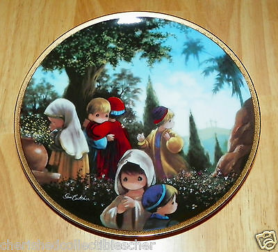 Collector Plate The Crucifixion Series Precious Moments Bible Story