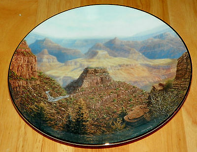 Collector Plate America the Beautiful Collection Series The Grand Canyon