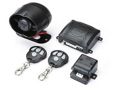 Omega CG350I5 Crime Guard Car Alarm Keyless Entry