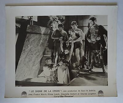 CECIL B.DE MILLE/SIGN OF THE CROSS///french lobby