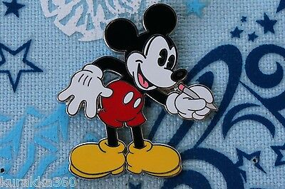 Disney Trading Pin - Classic Pie Eyed Mickey Mouse Drawing Pencil Sketch - 41783