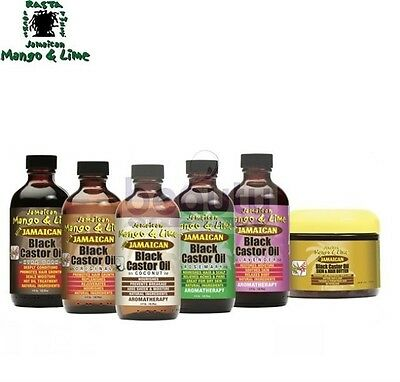 Jamaican Mango & Lime BLACK CASTOR OIL Range in all sizes* BEST SELLER CURRENTLY