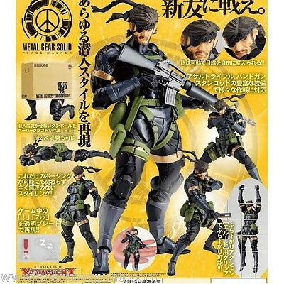 Revoltech Yamaguchi No.131 Snake From Metal gear Solid 25TH Anniversary