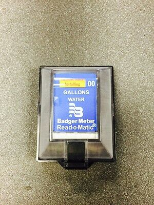 Pulse Style Remote For Water Meters Neptune, Amco, Badger!!! Works For All!!!