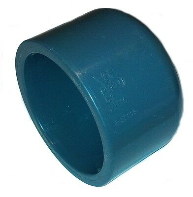 PVC Pipe Glue Cap stopend  Solvent Weld 20mm 25mm 32mm 40mm 50mm 63mm 75mm90mm • EUR 3,93