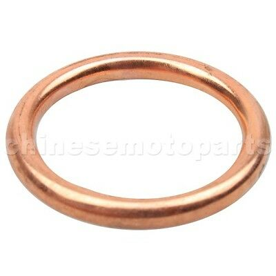2PCS 33mm Exhaust Pipe Gasket for 49 50cc 110cc 150 cc GY6 Scooter ATV Moped Pit