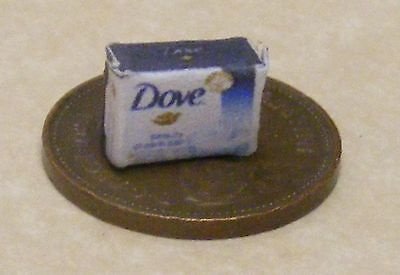 1:12 Single Empty Dove Soap Packet Dolls House Miniature Bathroom Accessory
