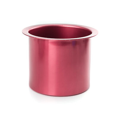(2) Two Aluminum Drink Cup Holders - Pink/Red for Poker Tables - 71-0006x2