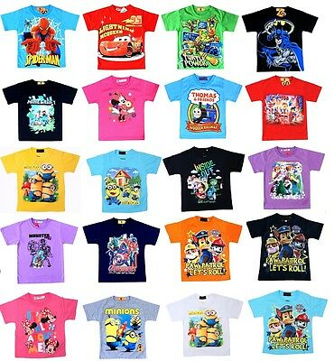 NEW Sz 1~12 PAW PATROL T-SHIRT TOP TEE DRESS KIDS BOYS GIRLS OUTFITS TEES SUMMER