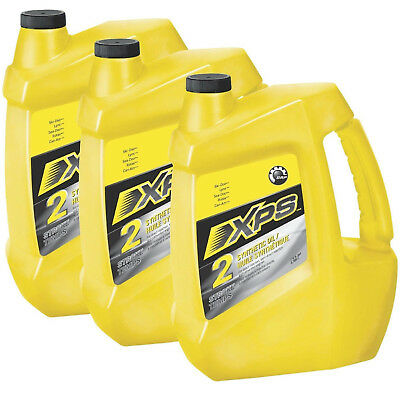 Ski-Doo,Can-Am,Sea-Doo XPS 2 Stroke Fully Synthetic Engine Oil Case of 3 Gallons