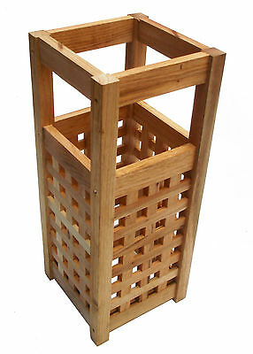 50x20x20cm Traditional Style Wooden Pine Walking Stick & Umbrella Stand
