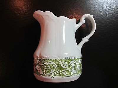 VINTAGE RESTAURANT J & G MEAKIN IRONSTONE BREAKFAST TRAY MILK CREAMER PITCHER
