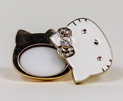 Sephora Hello Kitty Big Pink Bow Perfume To Go / Solid Perfume Ring - New in Box