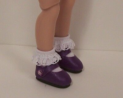 """Debs DK BLUE Basic Doll Shoes For 8/"""" Tiny Ann Estelle /& Tiny Betsy McCall"""