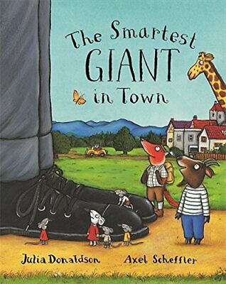 The Smartest Giant in Town by Donaldson, Julia Paperback Book The Cheap Fast