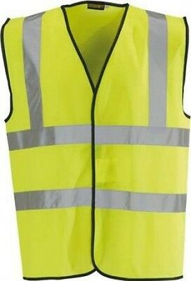Blackrock Men's Hi-Vis Waistcoat - Yellow, Medium