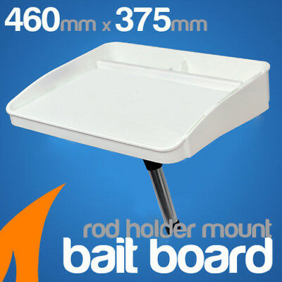 Bait Board Rod Holder Mount Boat fishing cutting board