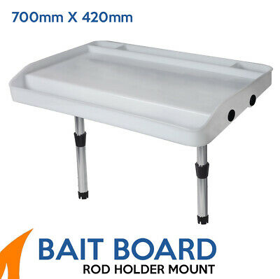 Extra Large Bait Board Rod Holder Mount Boat fishing cutting board