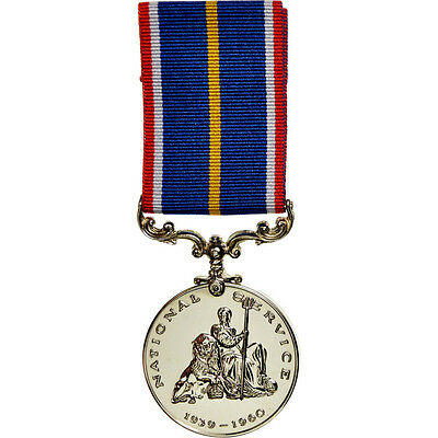 Decorations, National Service, Médaille #67396