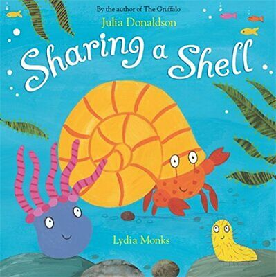 Sharing a Shell by Donaldson, Julia Paperback Book The Cheap Fast Free Post