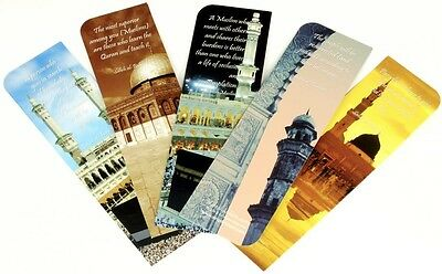 Islamic Hadith Bookmarks - Contemporary Designs with Hadith Inscriptions