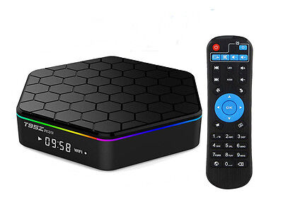T95Z PLUS Android 6.0 Smart TV Box Amlogic S912 2GB+16GB Octa Core 4K Video Play