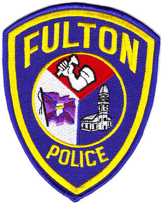 Fulton Missiouri Police Patch  Currently in use