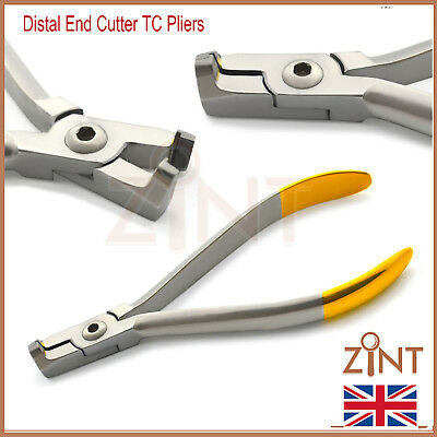 Orthodontic Distal End Cutter TC Safety With Cut And Hold Dental Universal Plier