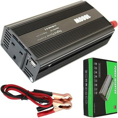 Quality 1000W Continuous/2000W Surge POWER INVERTER DC12V-AC240V WITH SOFT START