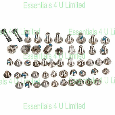 Full Screw Set For Apple iPhone 5S + White / Silver Bottom Pentalobe Screws