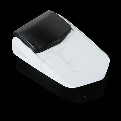 Passenger Rear Seat Cover Cowl White For YAMAHA YZF 1000 R1 YZFR1 2004 2005 2006