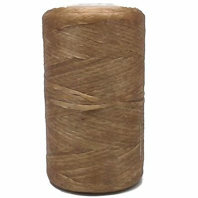 Natural Color Artificial Flat SInew Waxed 8 oz. by Real Leather BS108