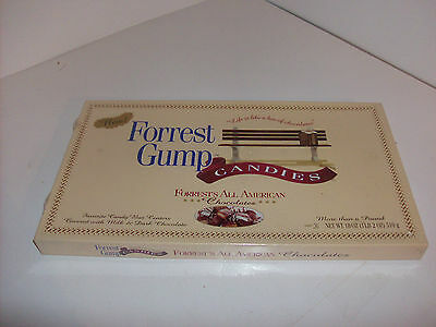 Rare, Sealed Forrest Gump Box of Chocolates 1995 Falcon Candy Co. -