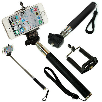 Self Extendable Handheld Telescopic Monopod Holder For Camera iPhone Smart Phone