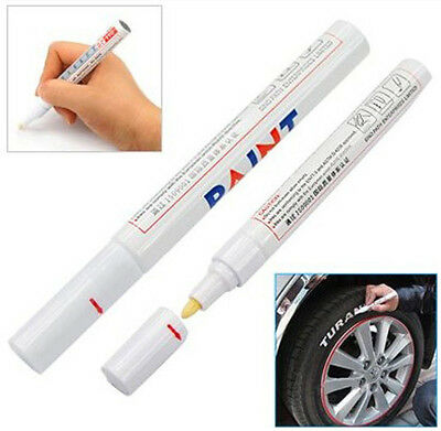 7 Colours Paint Marker Pen Car Motorbike Bike Cycle Tyre Tire Or Any Surface