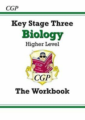 KS3 Biology Workbook - Higher (CGP KS3 Science) by CGP Books Paperback Book The