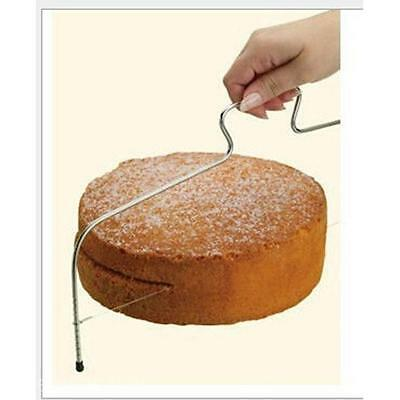 Cake Bread Cutter Single Wire Stainless Steel Slicer Cutting Saw Blade Leveller