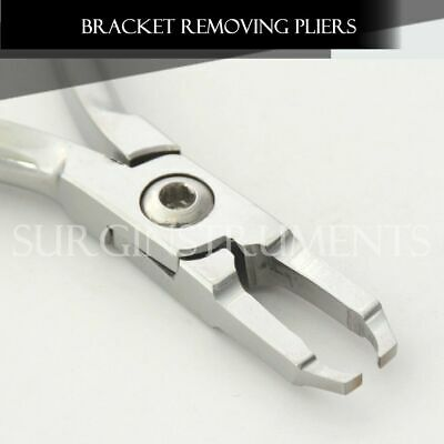 3 Pieces Mini Bracket Remover Plier Orthodontic Instruments