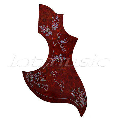 NEW-Pickguard Hummingbird Acoustic Guitar - TORTOISE For Gibson Replacement